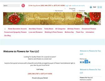 flowersforyoumia.com screenshot