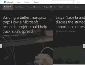 research.microsoft.com screenshot