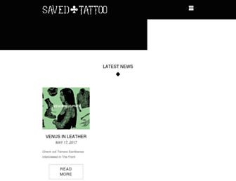 savedtattoo.com screenshot