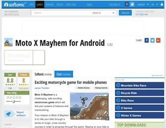 moto-x-mayhem.en.softonic.com screenshot