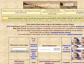 Main page screenshot of brainout.net