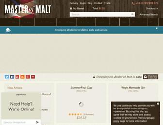 Thumbshot of Masterofmalt.com