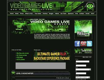 videogameslive.com screenshot