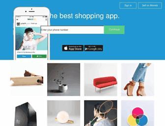Thumbshot of Wanelo.com