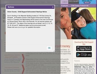 Thumbshot of Njchildsupport.org