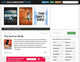 Thumbshot of Topdocumentaryfilms.com