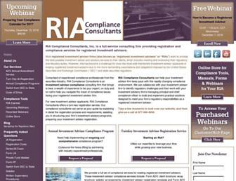 ria-compliance-consultants.com screenshot