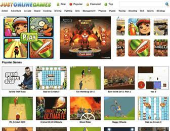 justonlinegames.com screenshot
