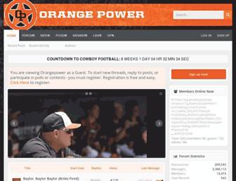 orangepower.com screenshot
