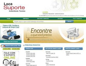 locasuporte.com.br screenshot