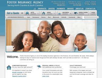 fosterinsagency.com screenshot