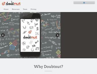 doubtnut.com screenshot