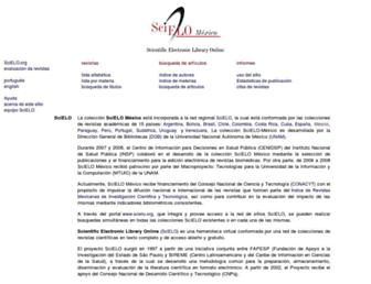scielo.org.mx screenshot
