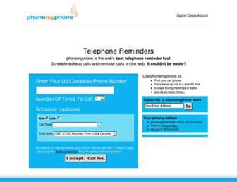 phonemyphone.com screenshot