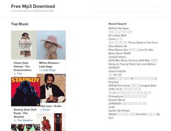 searchmp3.us screenshot
