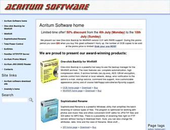 acritum.com screenshot