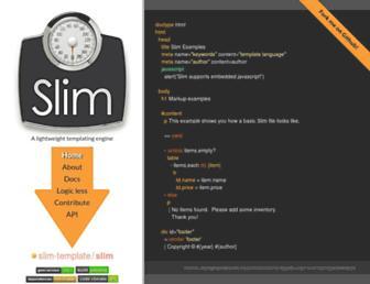 slim-lang.com screenshot