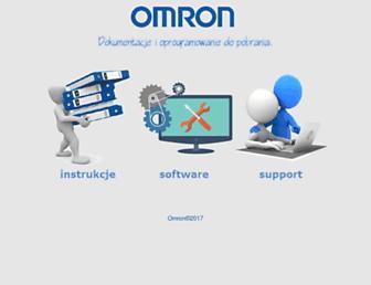 omronpliki.pl screenshot