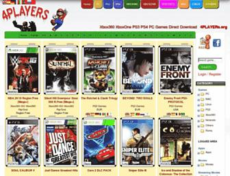 Fullscreen thumbnail of 4players.org
