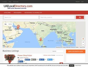 uaelocaldirectory.com screenshot