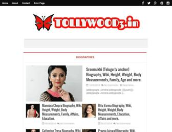 tollywood3.in screenshot