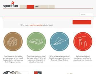 learn.sparkfun.com screenshot