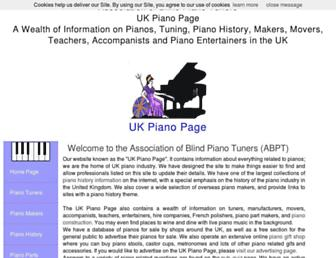 piano-tuners.org screenshot