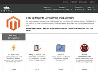 fishpig.co.uk screenshot