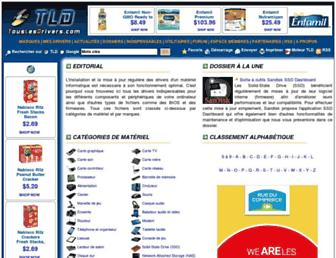 touslesdrivers.com screenshot