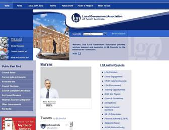 lga.sa.gov.au screenshot