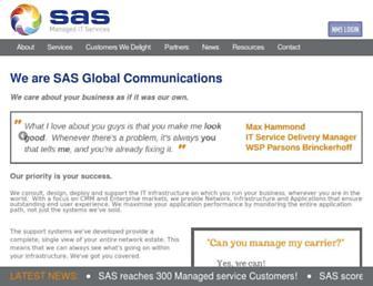 sas.co.uk screenshot