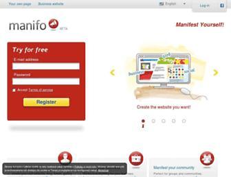 Thumbshot of Manifo.com