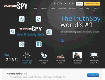 thetruthspy.com screenshot