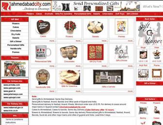 ahmedabadcity.com screenshot