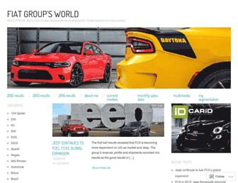fiatgroupworld.com screenshot