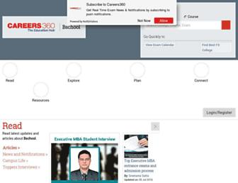 bschool.careers360.com screenshot