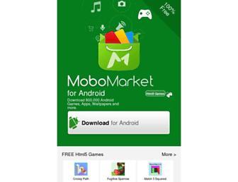 m.mobomarket.net screenshot