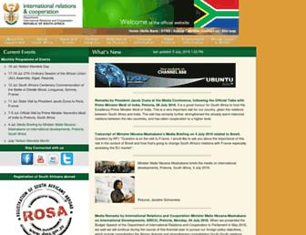 Thumbshot of Dfa.gov.za