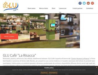 cafe.gluservice.it screenshot