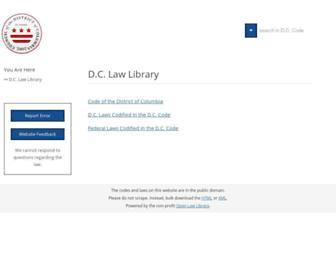 code.dccouncil.us screenshot