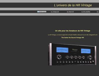 vintageshifi.com screenshot