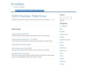 driverbyte.com screenshot