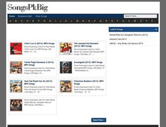 songspkbig.blogspot.com screenshot
