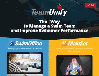 teamunify.com screenshot