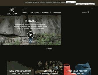 Thumbshot of Arcteryx.com