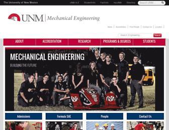 me.unm.edu screenshot