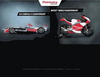 mahindraracing.com screenshot