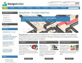 designbuilder.co.uk screenshot