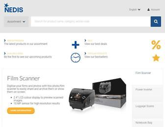 webshop.nedis.com screenshot