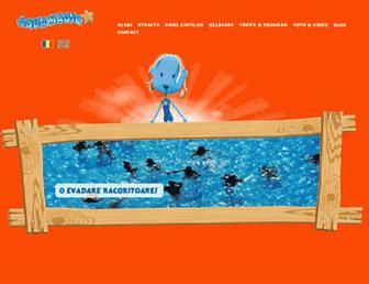 aqua-magic.ro screenshot